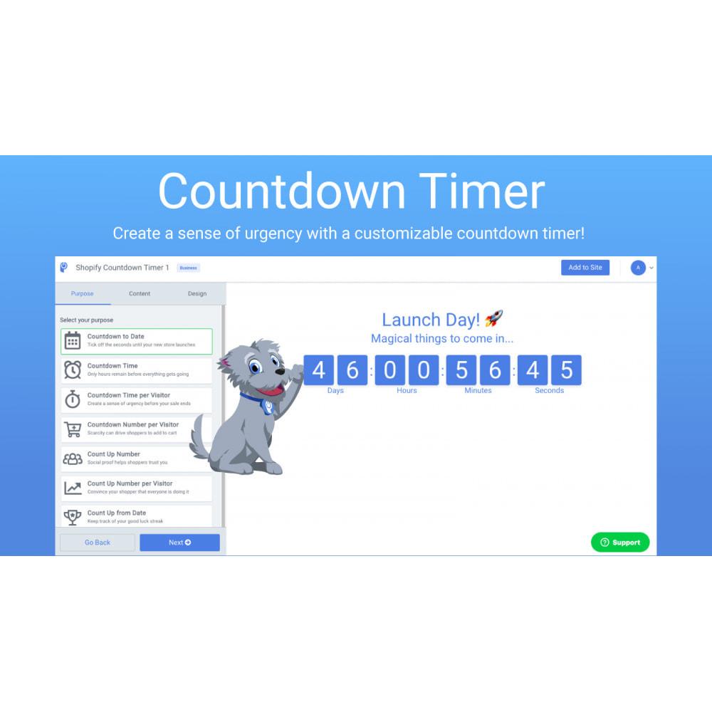 module - Publicidade e Marketing - POWr Countdown Timer - 1