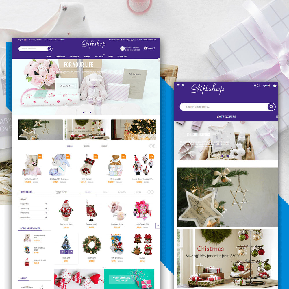 theme - Regalos, Flores y Celebraciones - Gifts and Toys Store - 1
