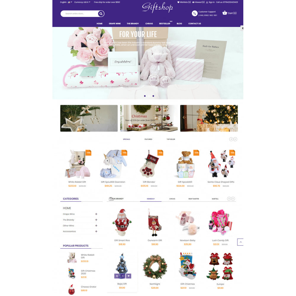 theme - Regalos, Flores y Celebraciones - Gifts and Toys Store - 2
