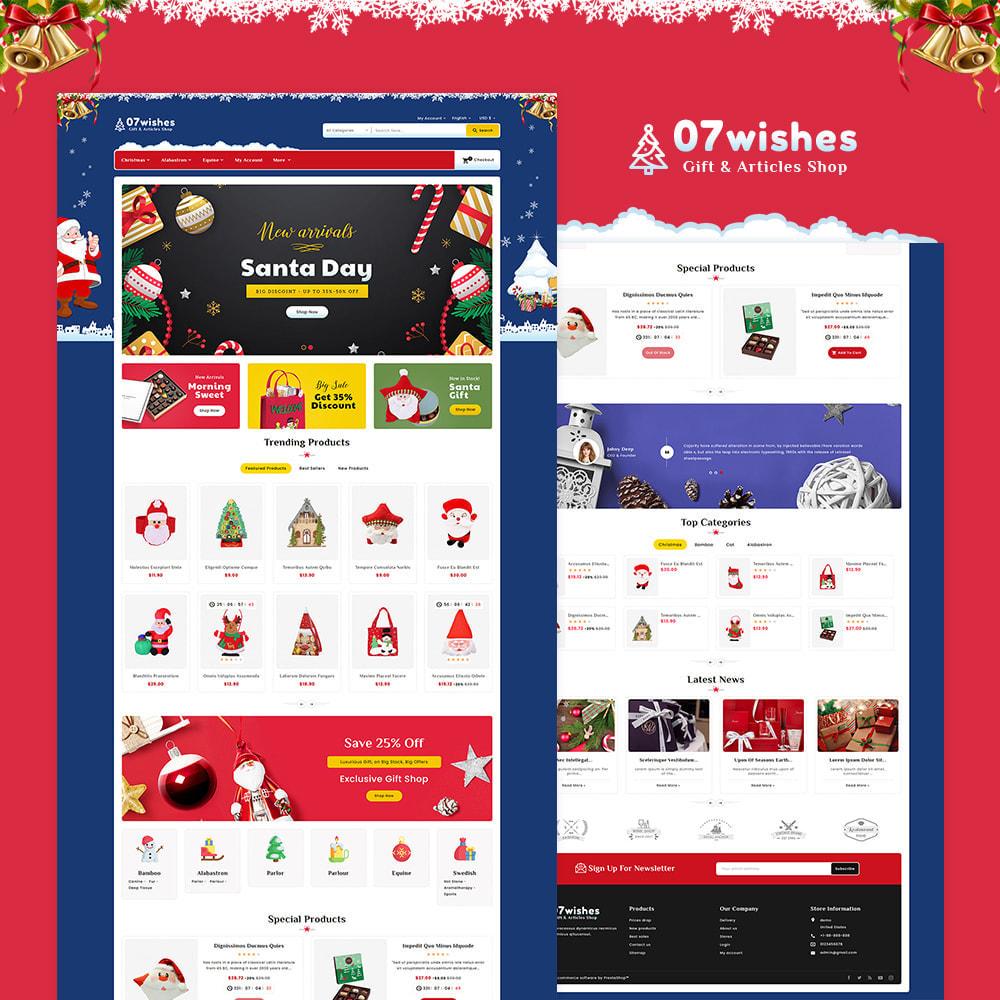 theme - Gifts, Flowers & Celebrations - 07 Wishes - Gift & Articles Shop - 2