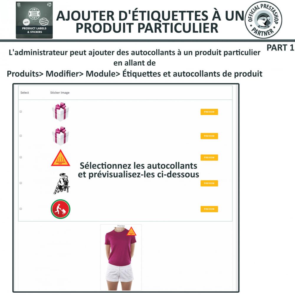 module - Etiquettes & Logos - Étiquettes de Produits et Autocollants - 15
