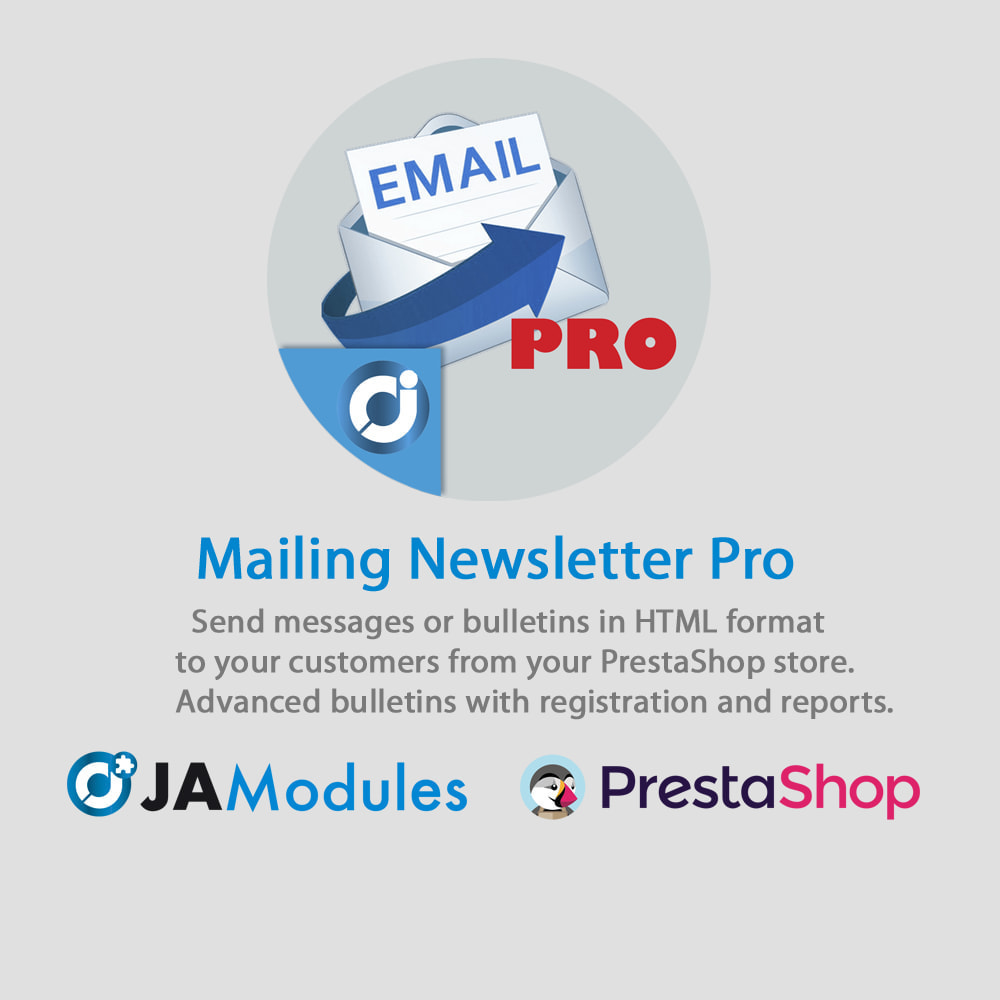 module - Newsletter & SMS - Mailing newsletter Pro - 1