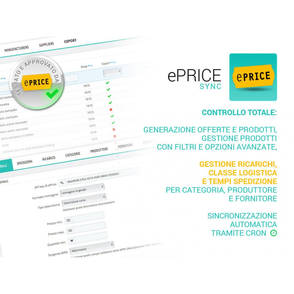 module - Marketplace - Sincronizza il tuo negozio con il marketplace di ePrice - 1