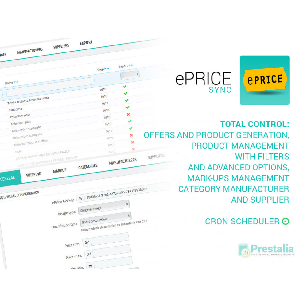 module - Marktplätze - Sync your store with Eprice marketplace - 7