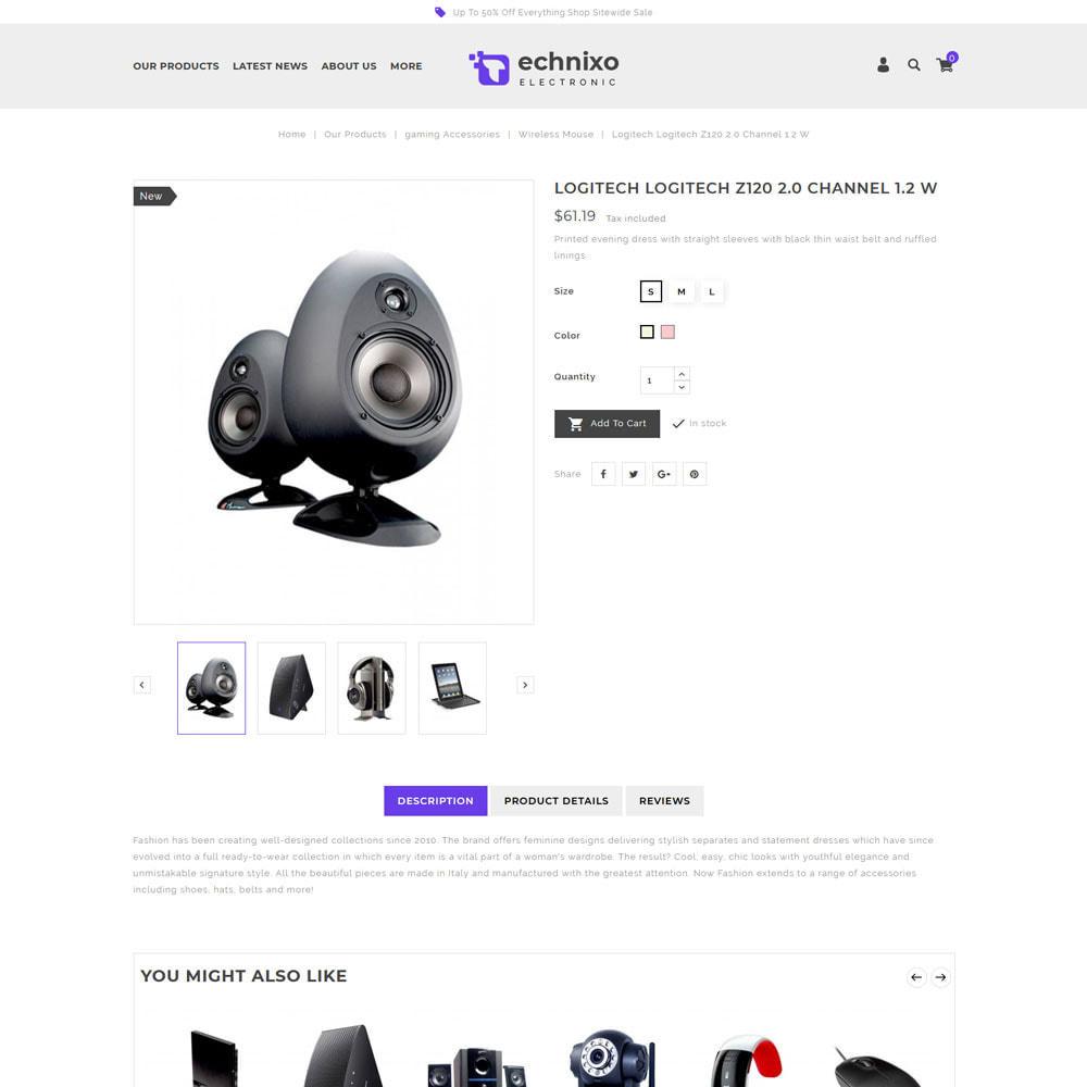 theme - Electrónica e High Tech - Technixo - La tienda electrónica - 7