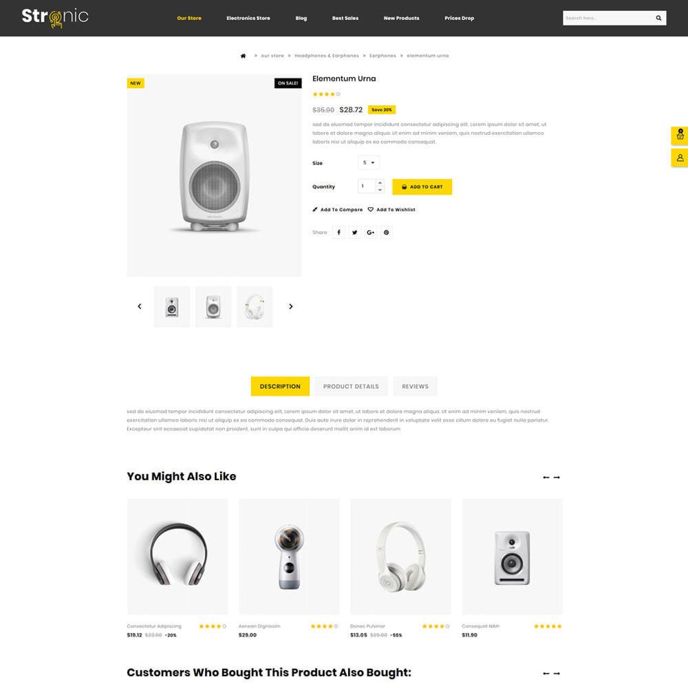 theme - Elettronica & High Tech - Stronic Electronics Store - 5
