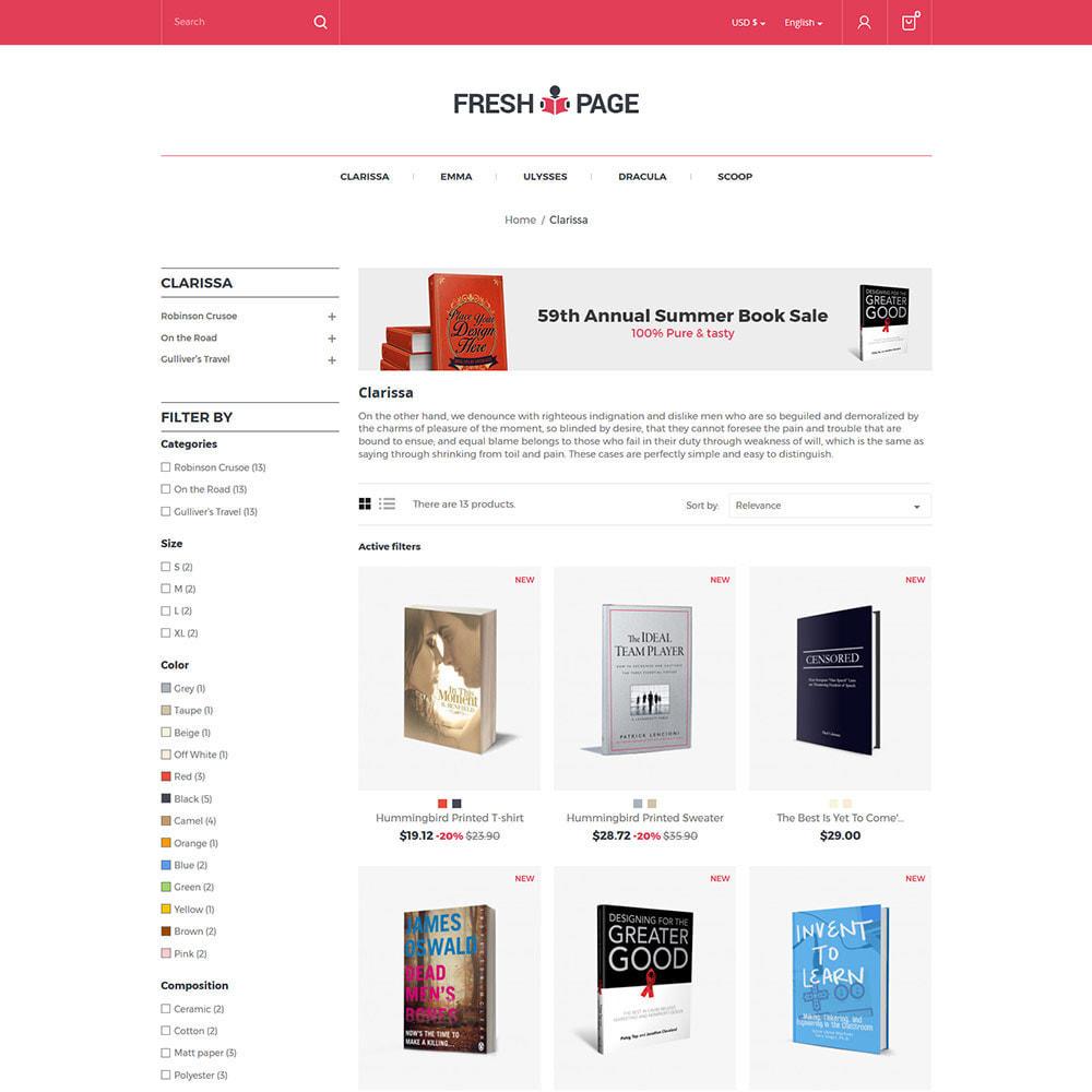 theme - Arte y Cultura - Fresh Page Book - Tienda de libros electrónicos - 3