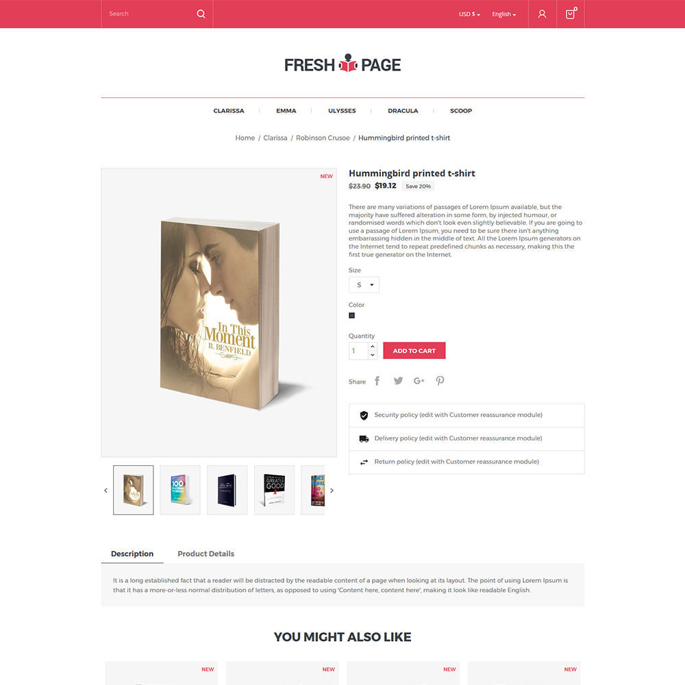 theme - Искусство и Культура - Fresh Page Book - Магазин электронных книг - 6
