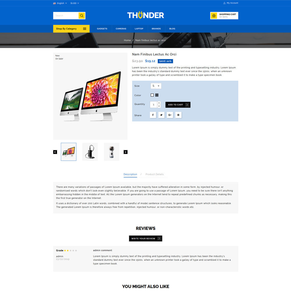 theme - Electrónica e High Tech - Thunder - Electronics Store - 4
