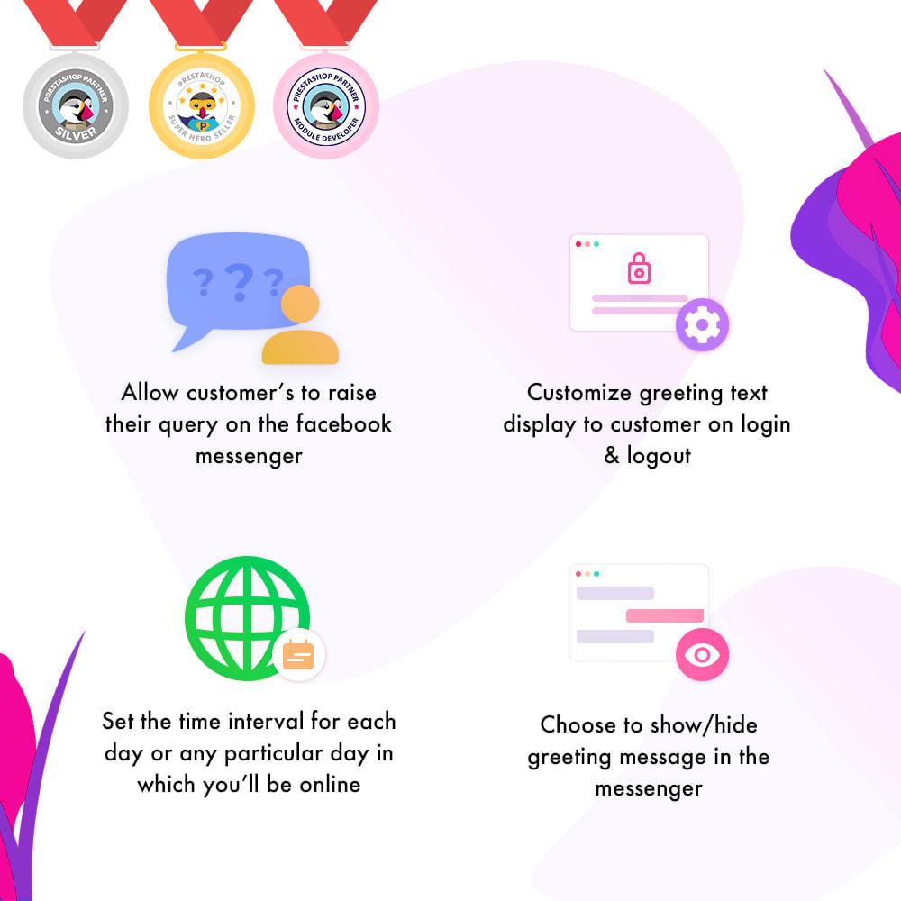 module - Productos en Facebook & redes sociales - Messenger | Social Live Chat - 2