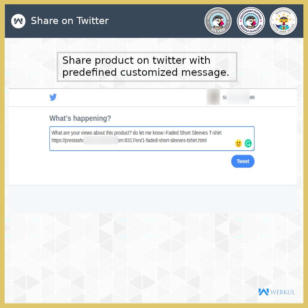 module - Compartir contenidos y Comentarios - Product and Order Social Share - 2