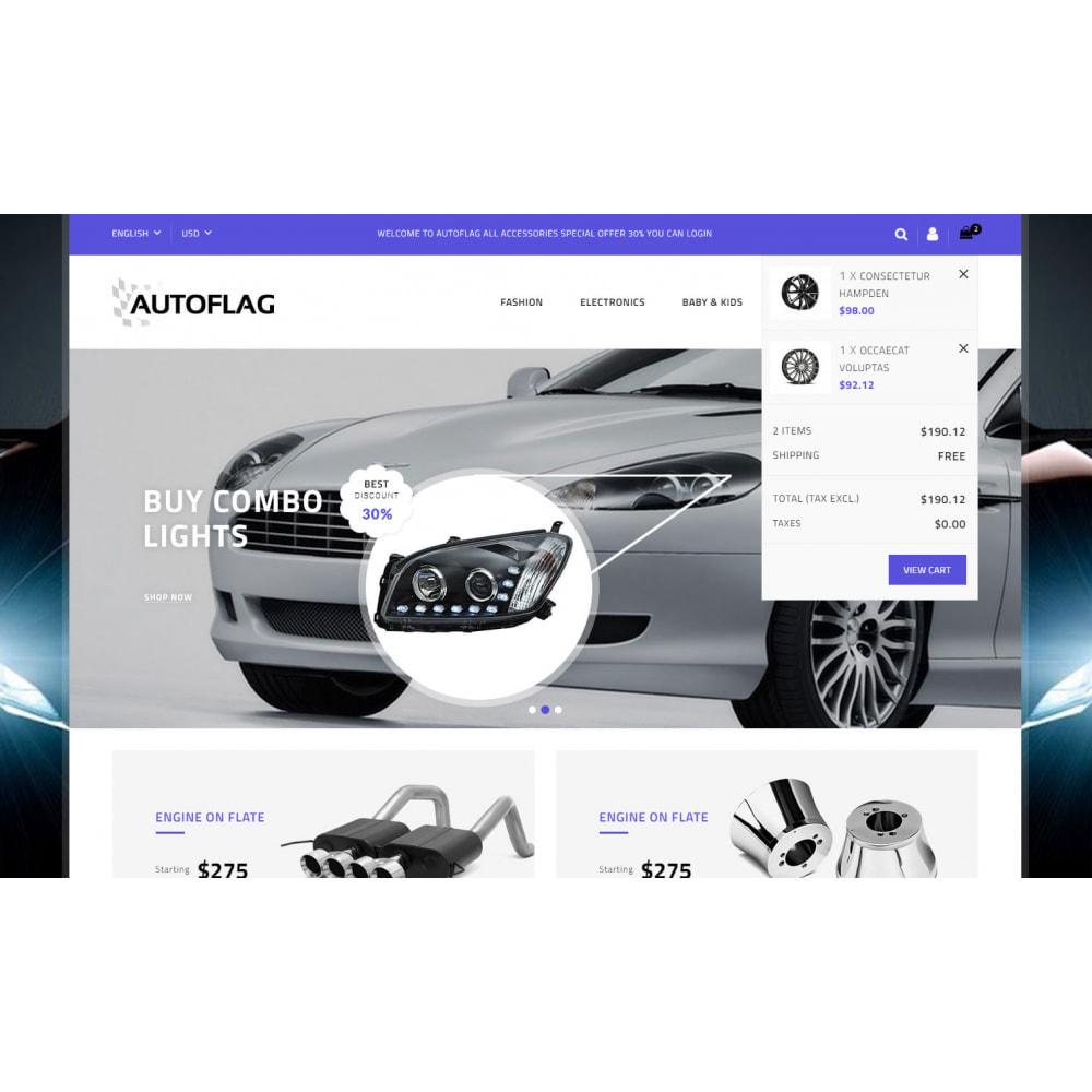 theme - Automotive & Cars - AutoFlag - AutoParts Store - 8
