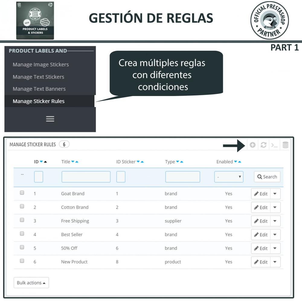 module - Etiquetas y Logos - Etiquetas y pegatinas del producto - 12