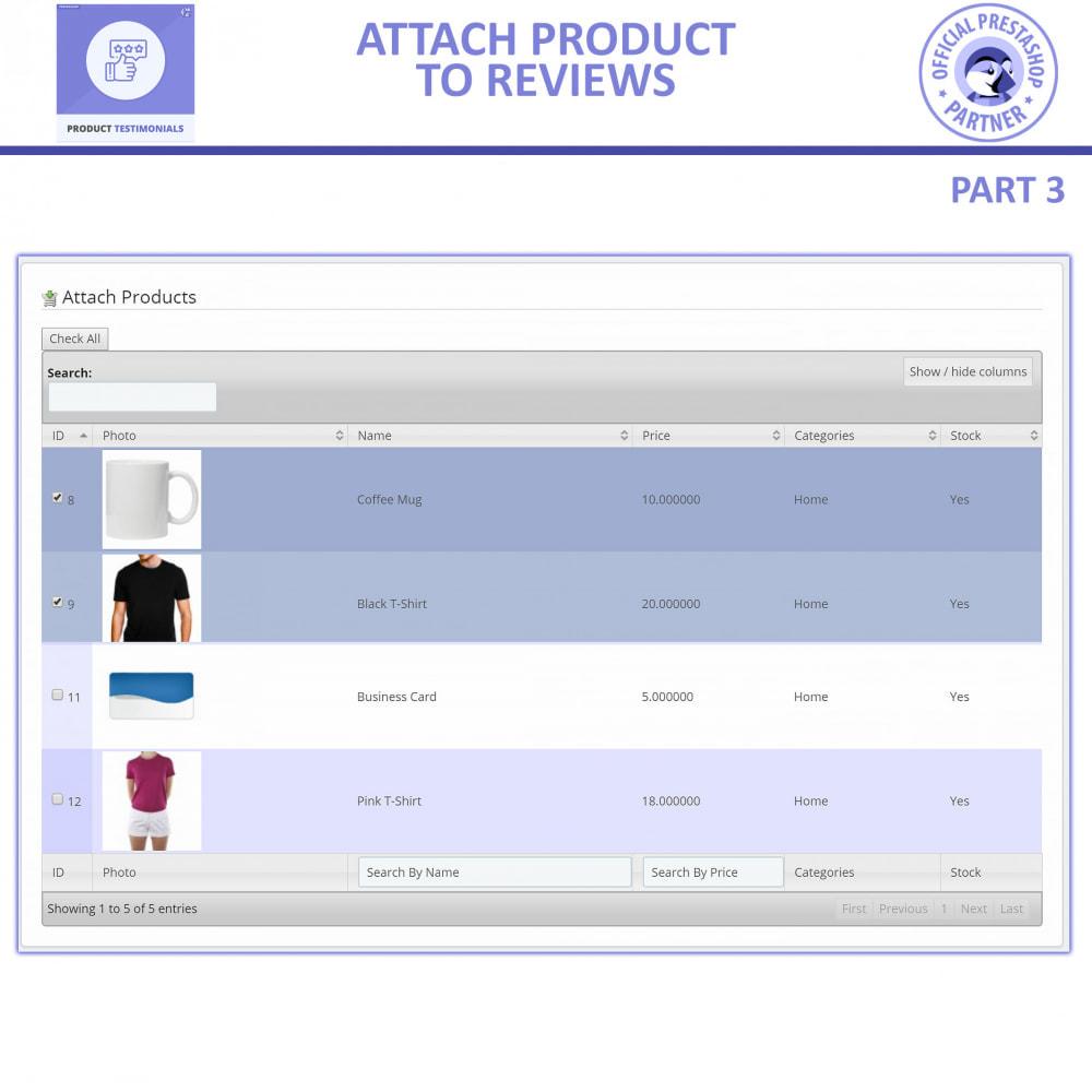 module - Customer Reviews - Customer Reviews + Store Testimonials Module - 7