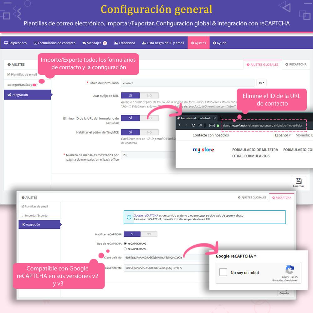 module - Formulario de contacto y Sondeos - Contact Form Ultimate: Arrastra y suelta formularios - 12