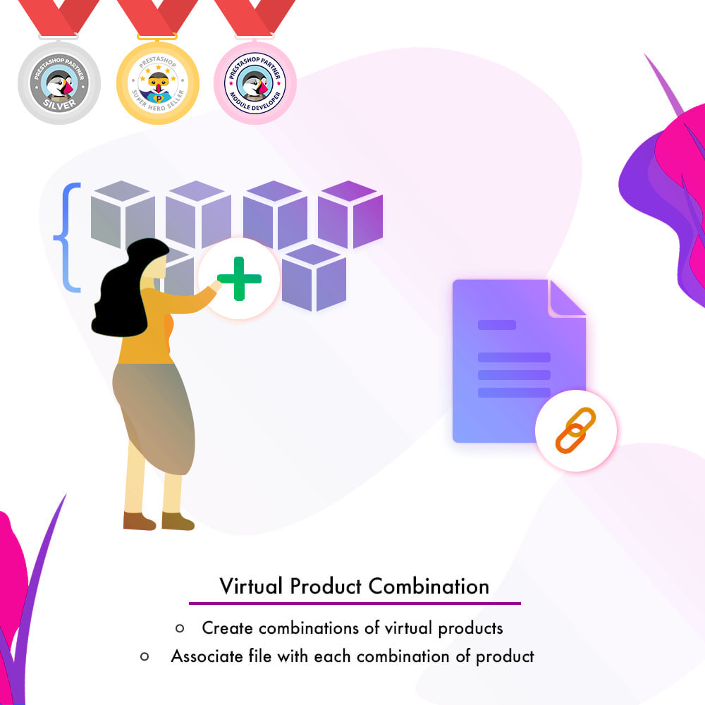 module - Bundels & Personalisierung - Virtual Product Combination - 1