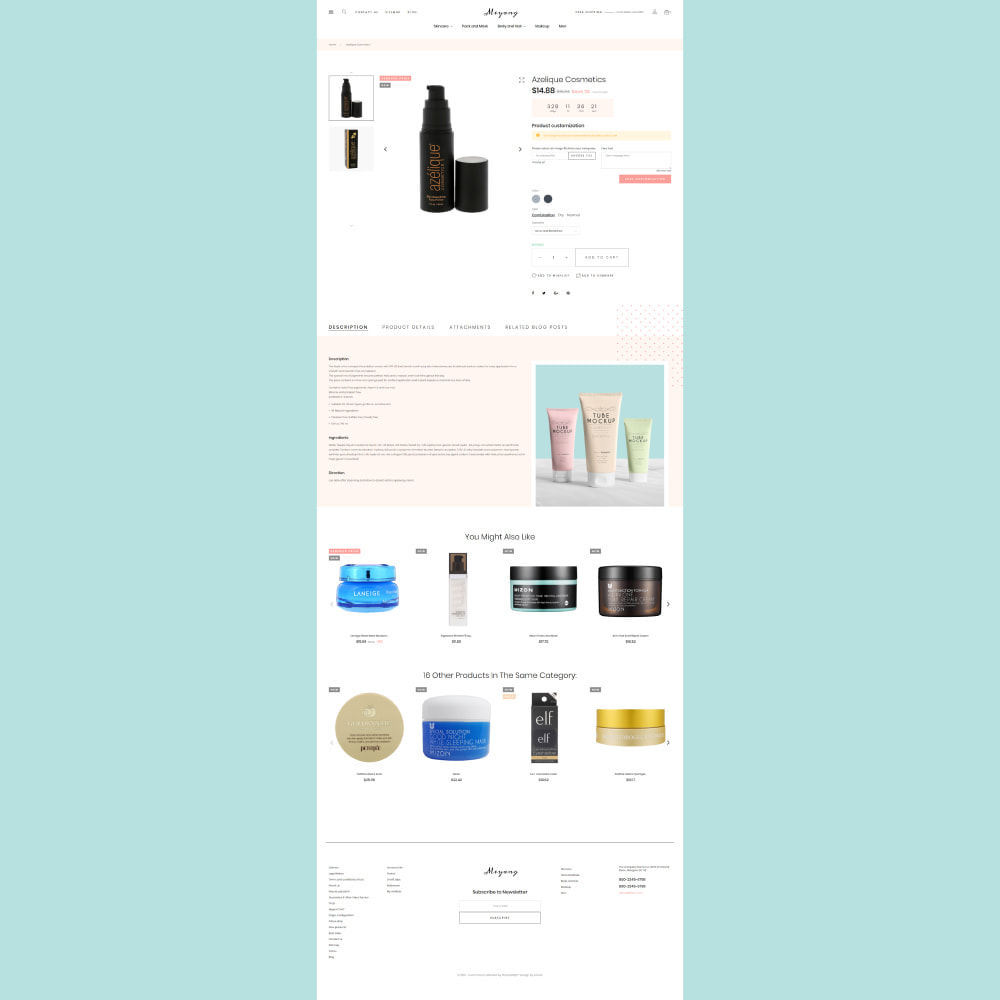 theme - Santé & Beauté - Meyang - Korean Cosmetics Shop - 6