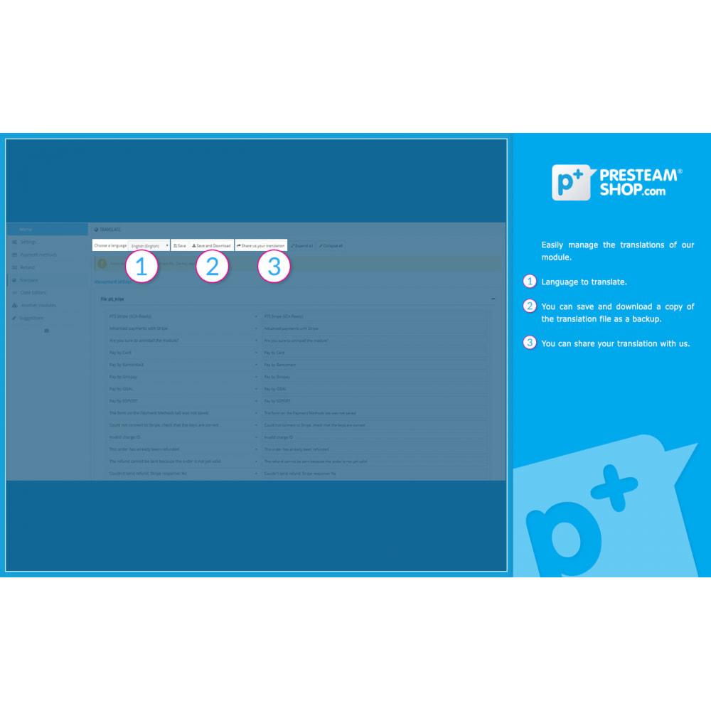 module - Pago con Tarjeta o Carteras digitales - PTS Stripe - Pagos más seguros y fáciles (SCA Ready) - 10