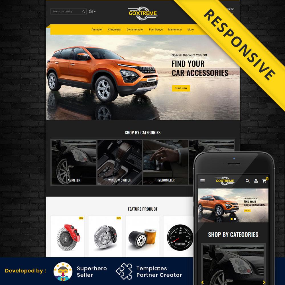 theme - Carros & Motos - Goxtreme - Spare Parts Store - 1
