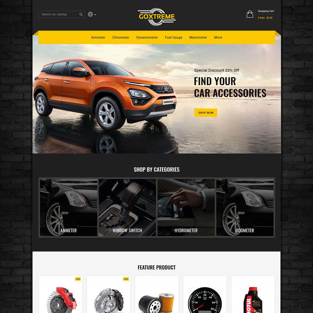 theme - Carros & Motos - Goxtreme - Spare Parts Store - 2