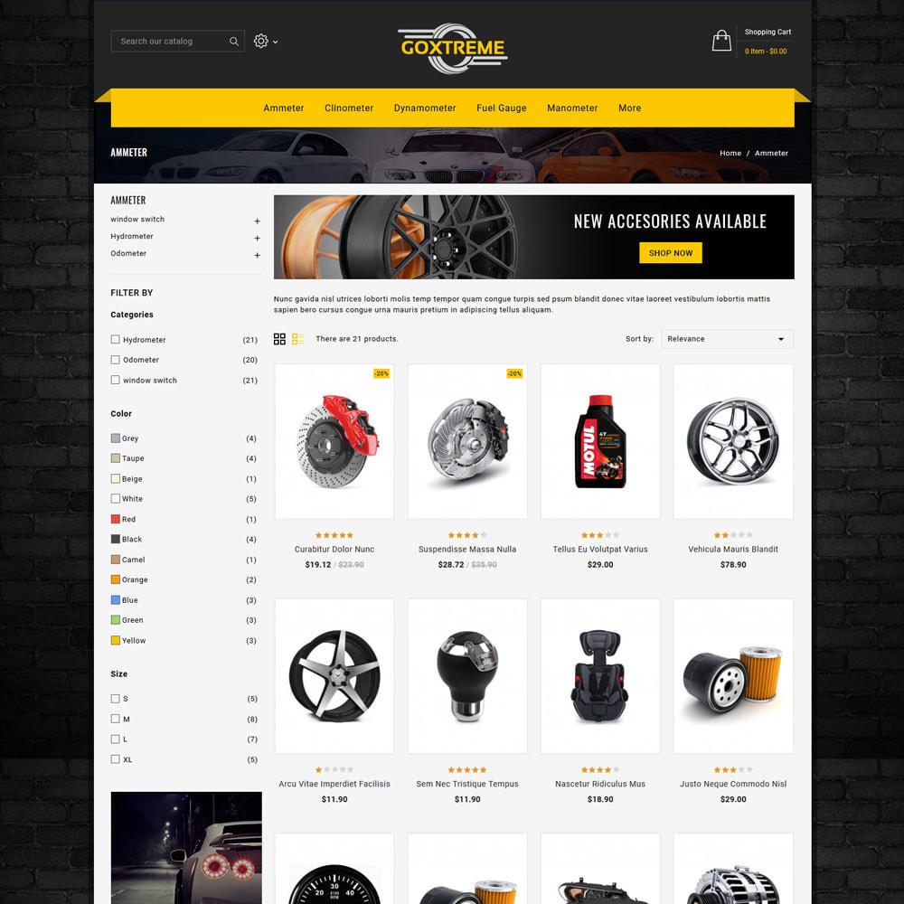 theme - Carros & Motos - Goxtreme - Spare Parts Store - 3