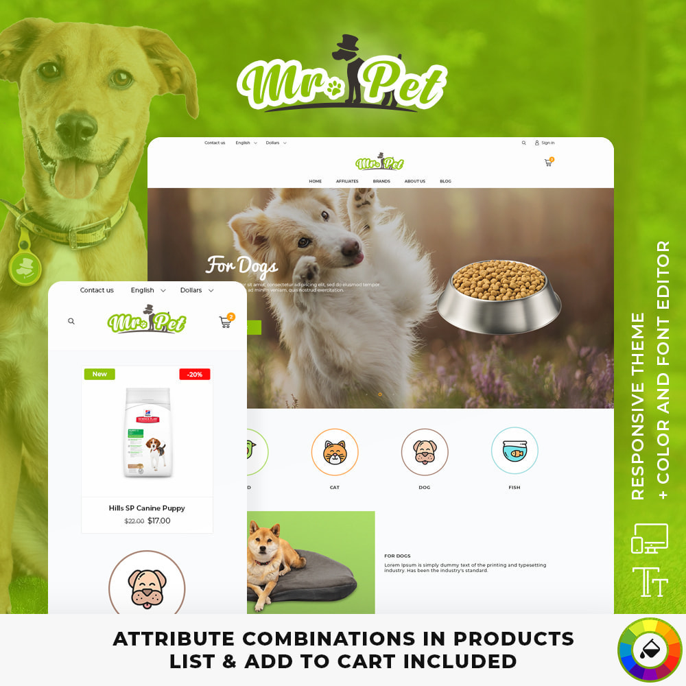 theme - Animales y Mascotas - Mr. Pet - 1