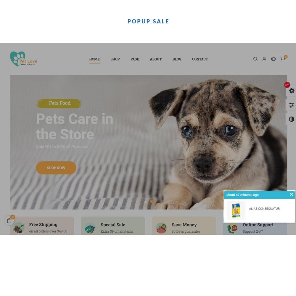 theme - Животные и домашние питомцы - Pet Love Store - 3