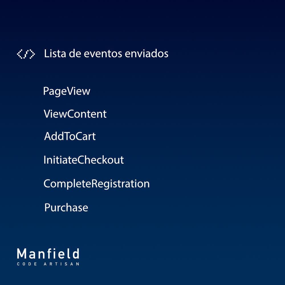 module - Productos en Facebook & redes sociales - Facebook Pixel + Track E-commerce + Catalogo e Cron - 8