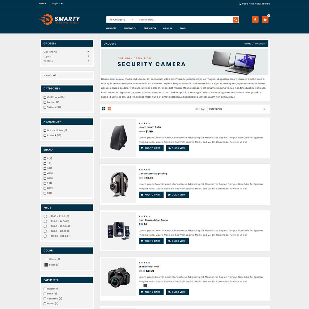 theme - Elettronica & High Tech - Smarty Electronics & Computer Shop - 4