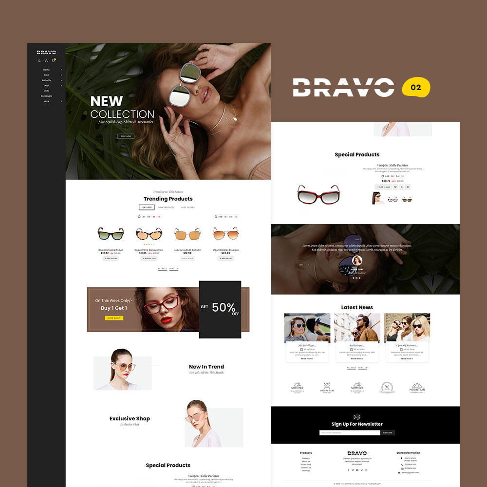 theme - Fashion & Shoes - BRAVO - Multi Purpose Boutique Shop - 3