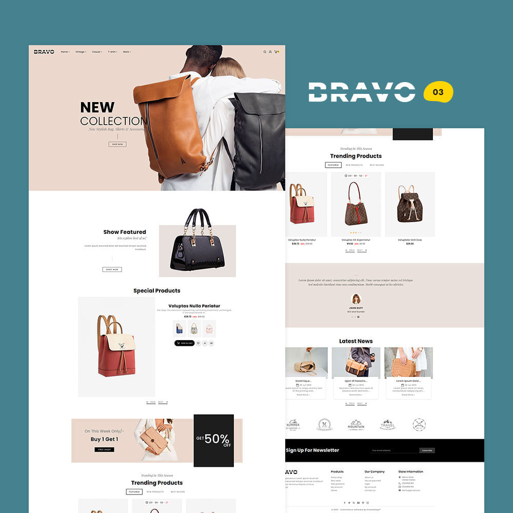 theme - Fashion & Shoes - BRAVO - Multi Purpose Boutique Shop - 4