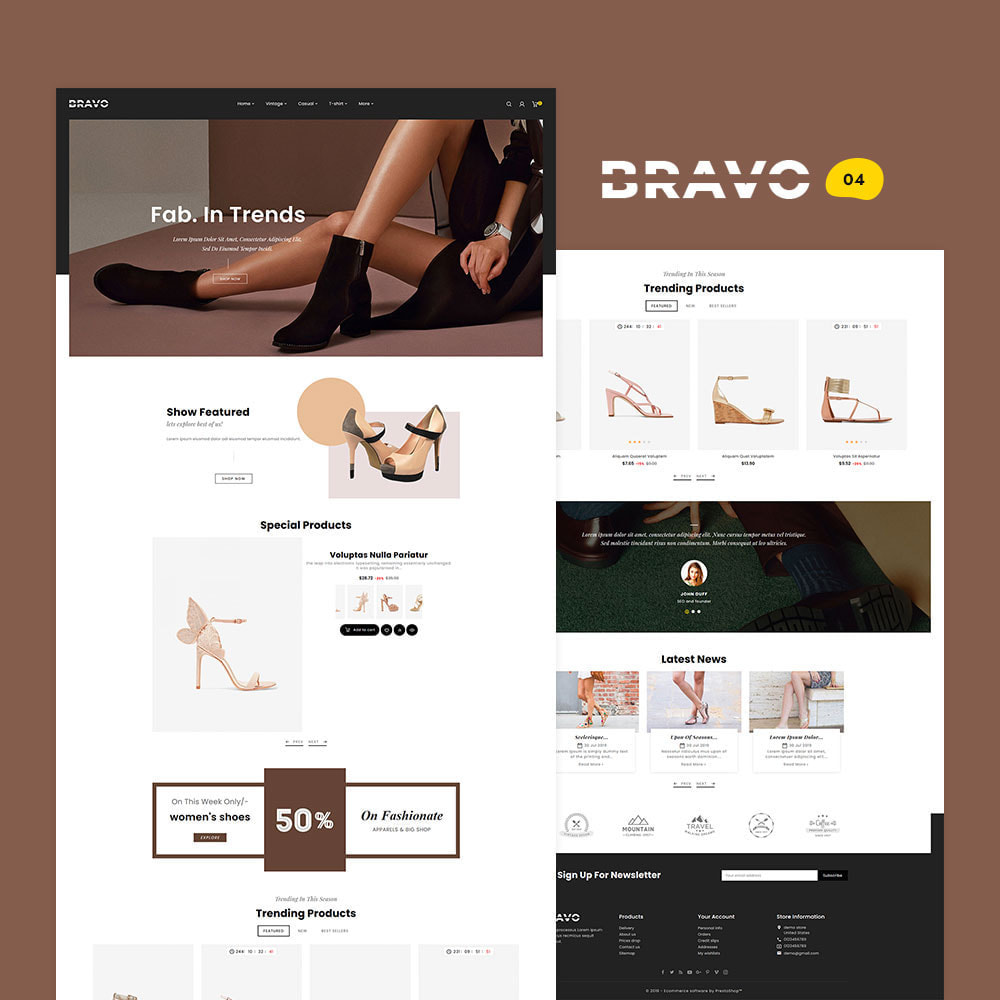 theme - Fashion & Shoes - BRAVO - Multi Purpose Boutique Shop - 5