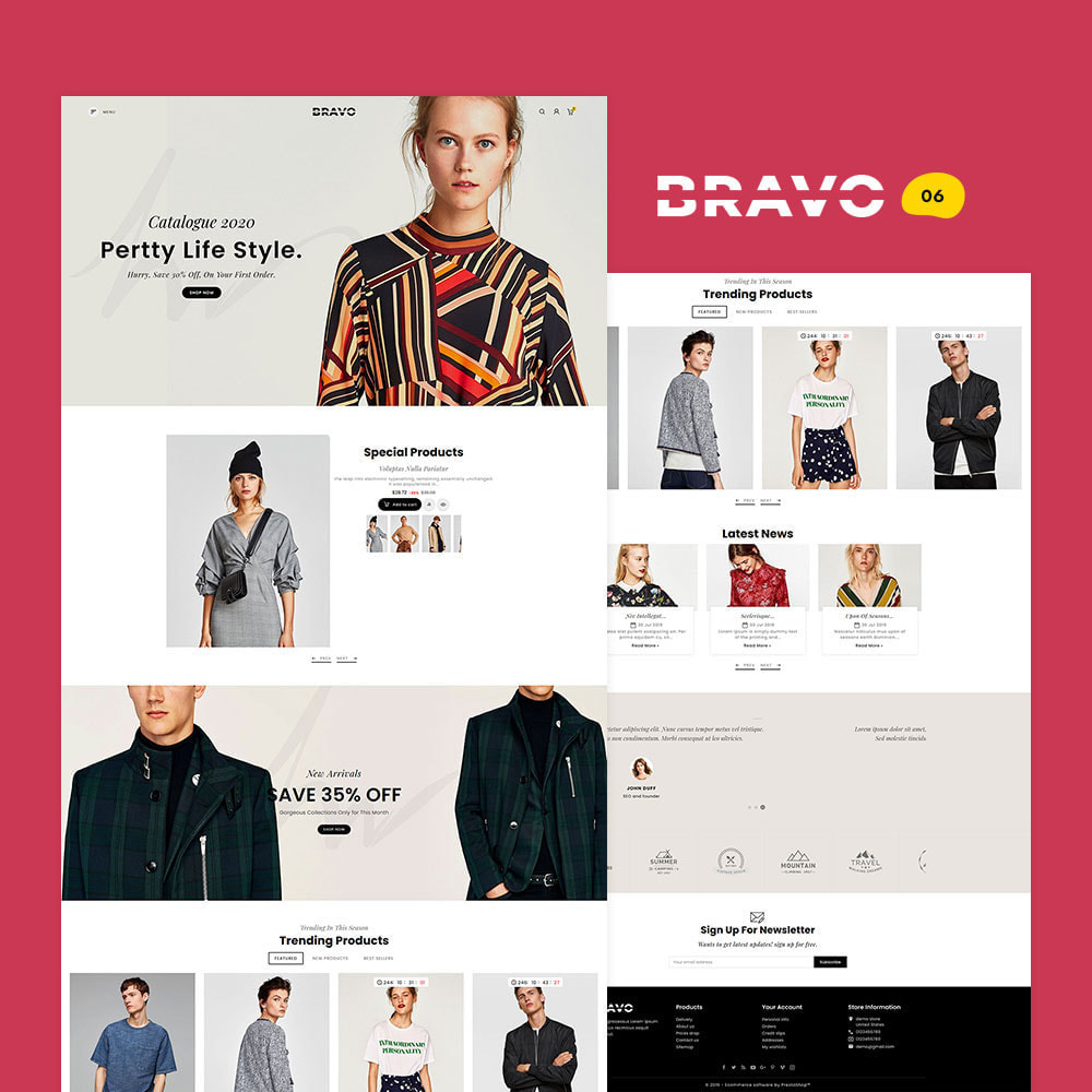 theme - Fashion & Shoes - BRAVO - Multi Purpose Boutique Shop - 7