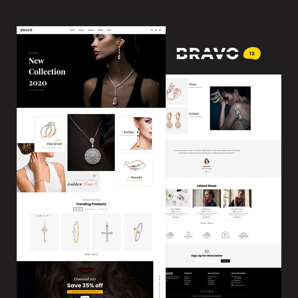 theme - Fashion & Shoes - BRAVO - Multi Purpose Boutique Shop - 13