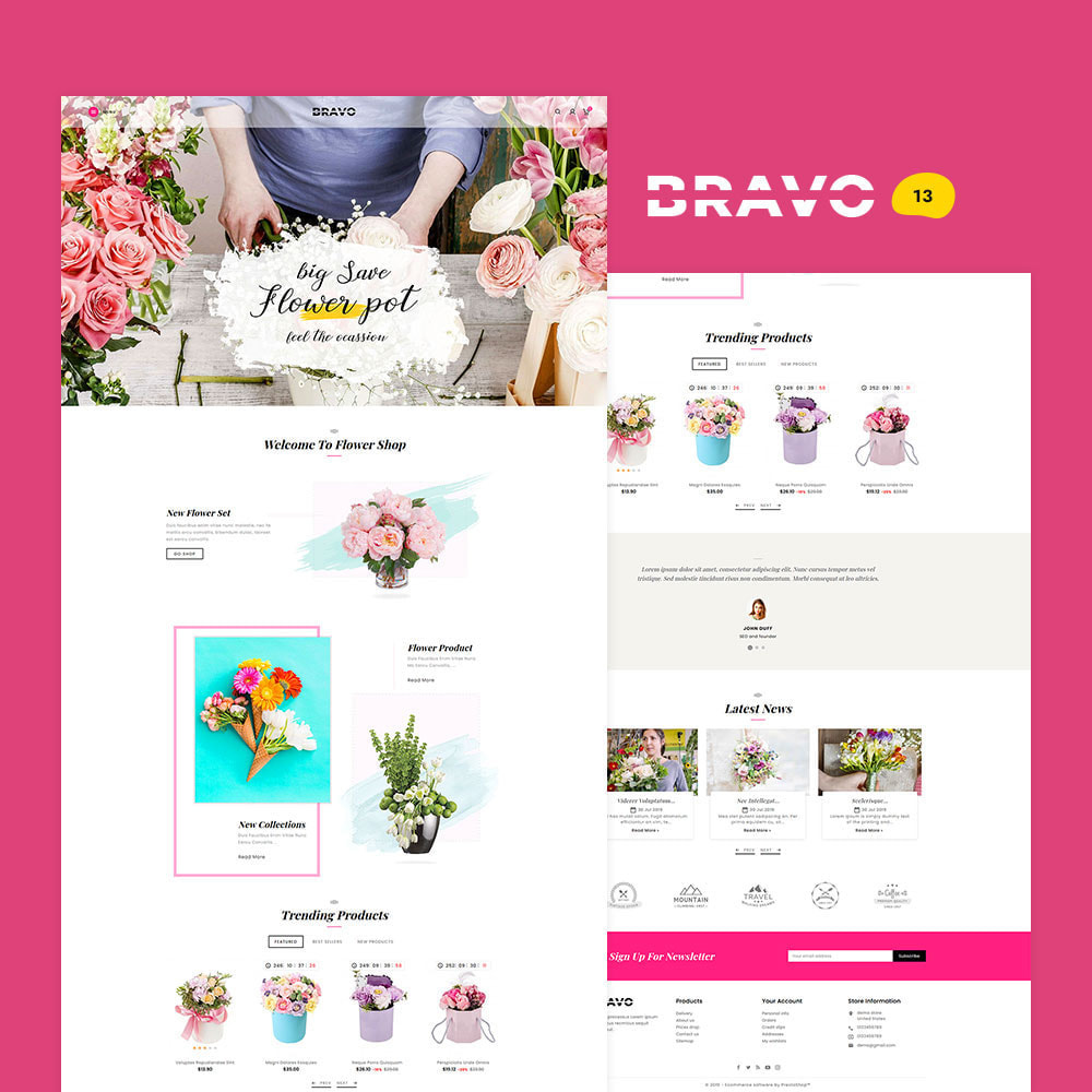 theme - Fashion & Shoes - BRAVO - Multi Purpose Boutique Shop - 14