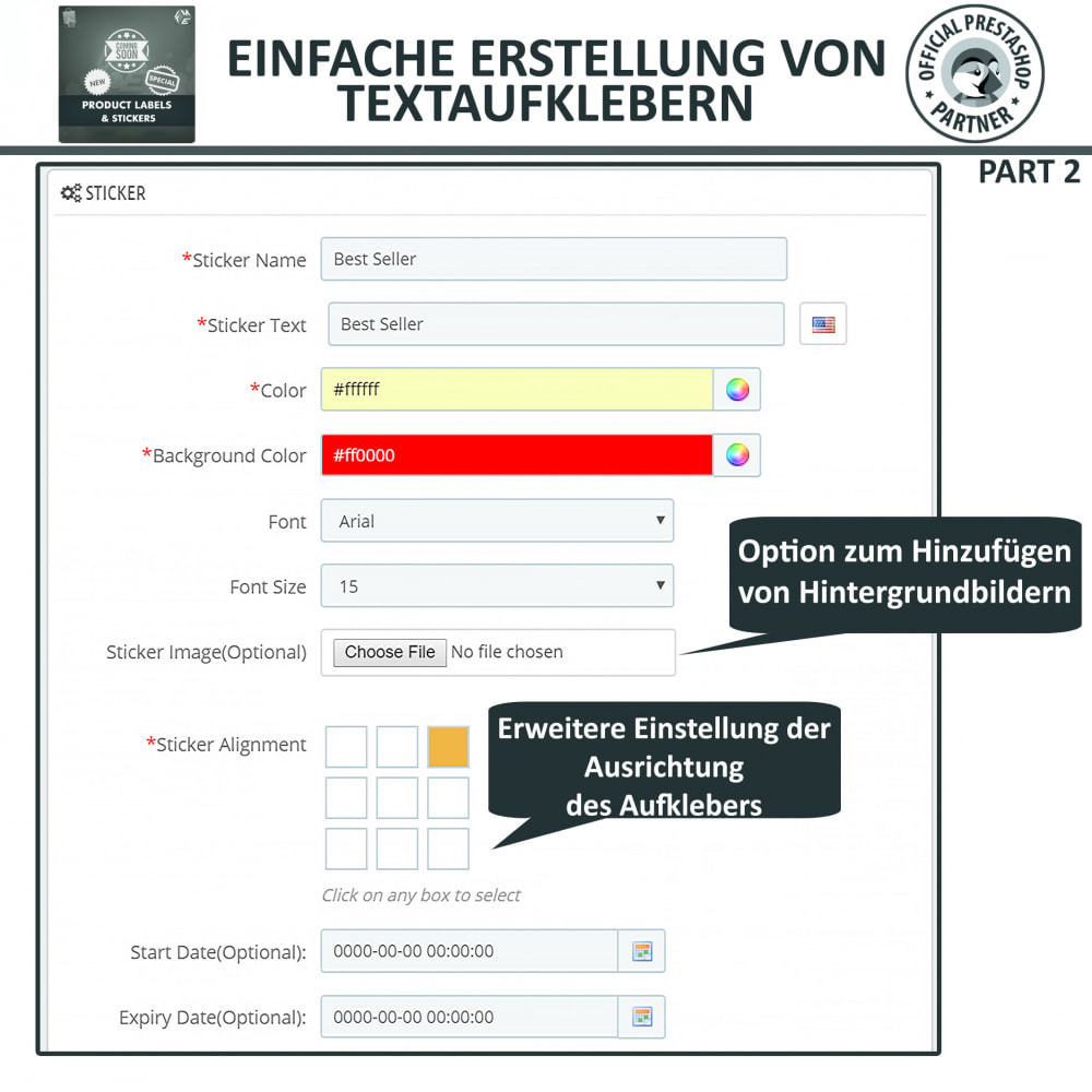 module - Badges & Logos - Produktaufkleber und Aufkleber - 10