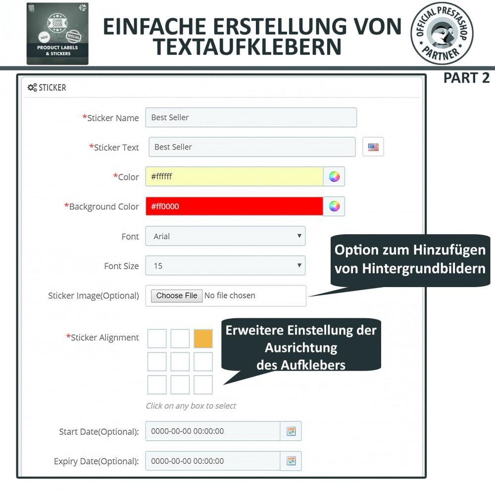 module - Badges & Logos - Produktaufkleber und Aufkleber - 9