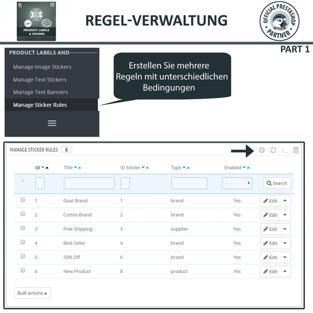 module - Badges & Logos - Produktaufkleber und Aufkleber - 13