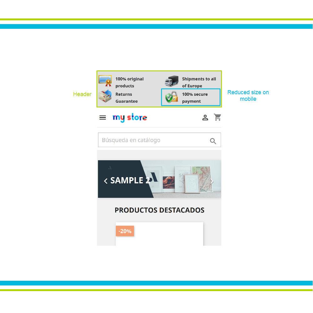 module - Personalización de la página - Múltiple Elementos de Confianza Animados Lottie JSON - 17