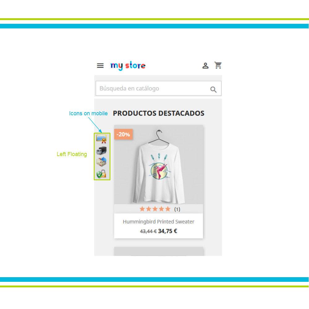 module - Personalización de la página - Múltiple Elementos de Confianza Animados Lottie JSON - 18