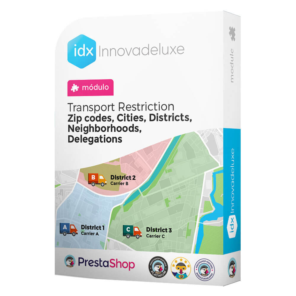 module - Transporteurs - Restricting Carriers by Zip Code, District, or City - 1