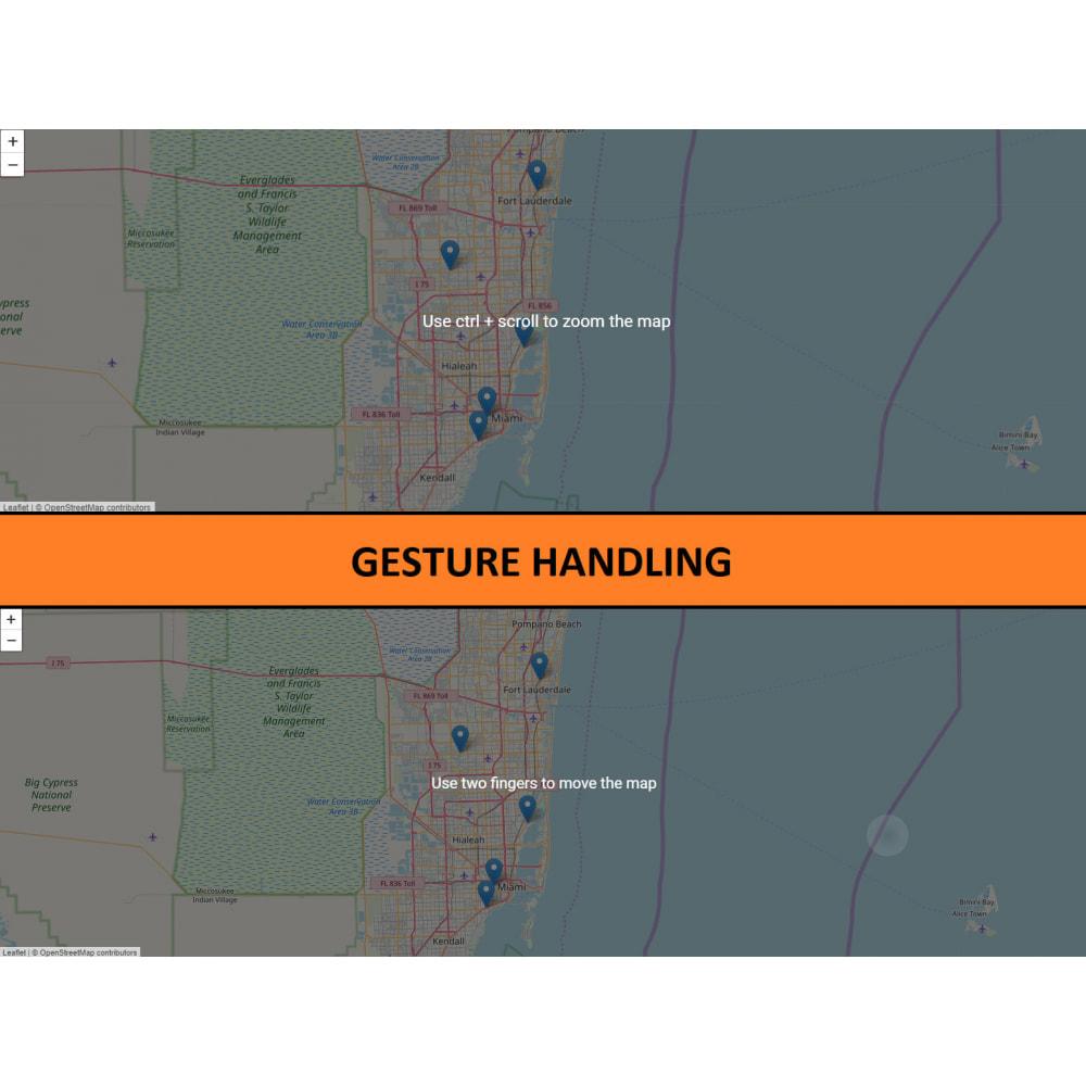 module - Internationaal & Lokalisatie - Store Locator (FREE - No Google Maps) - 5