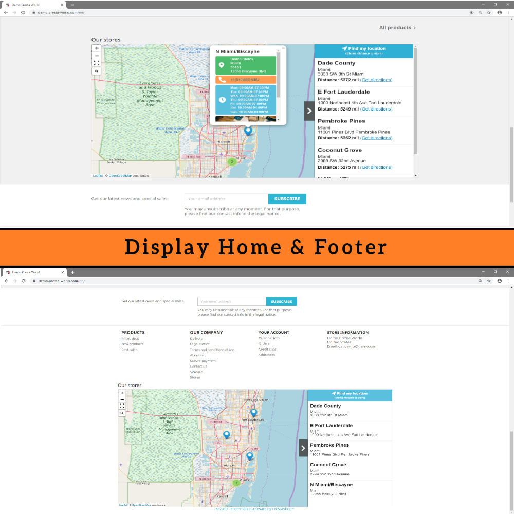module - Internationaal & Lokalisatie - Store Locator (FREE - No Google Maps) - 6