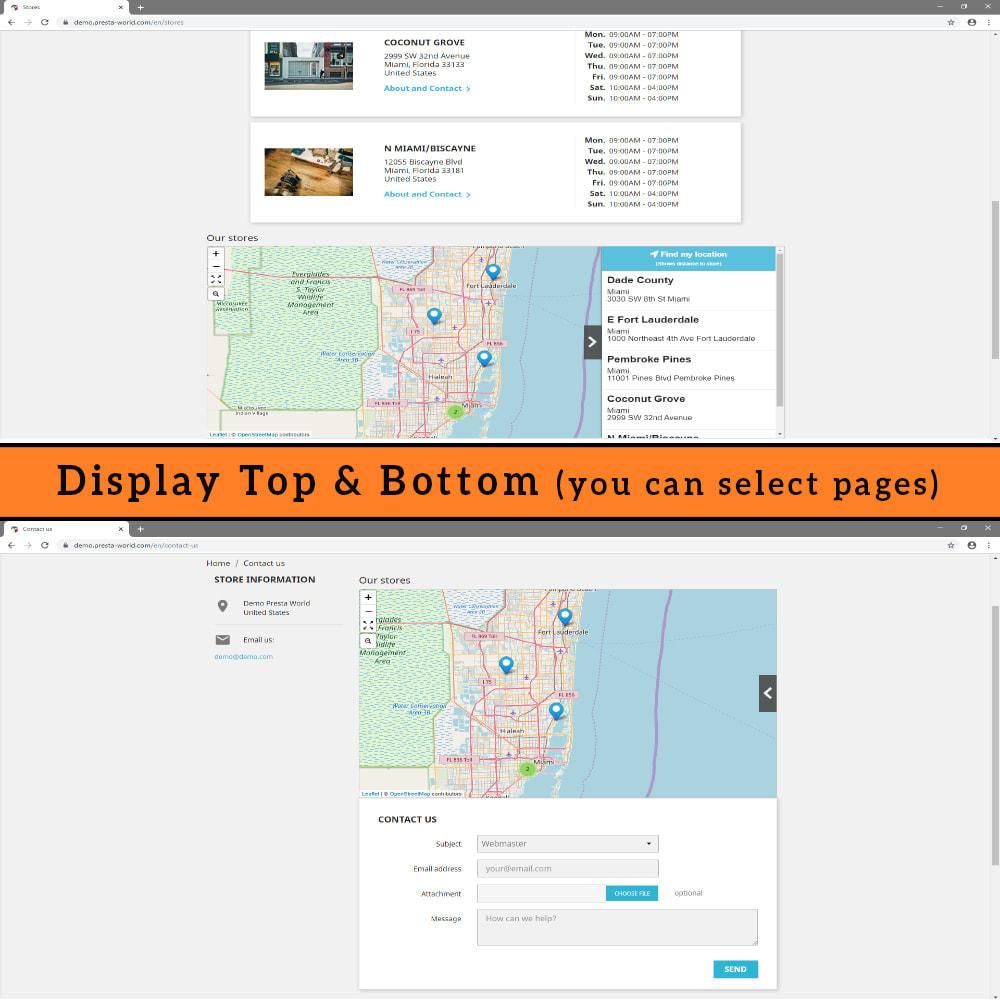 module - International & Localisation - Store Locator (FREE - No Google Maps) - 9