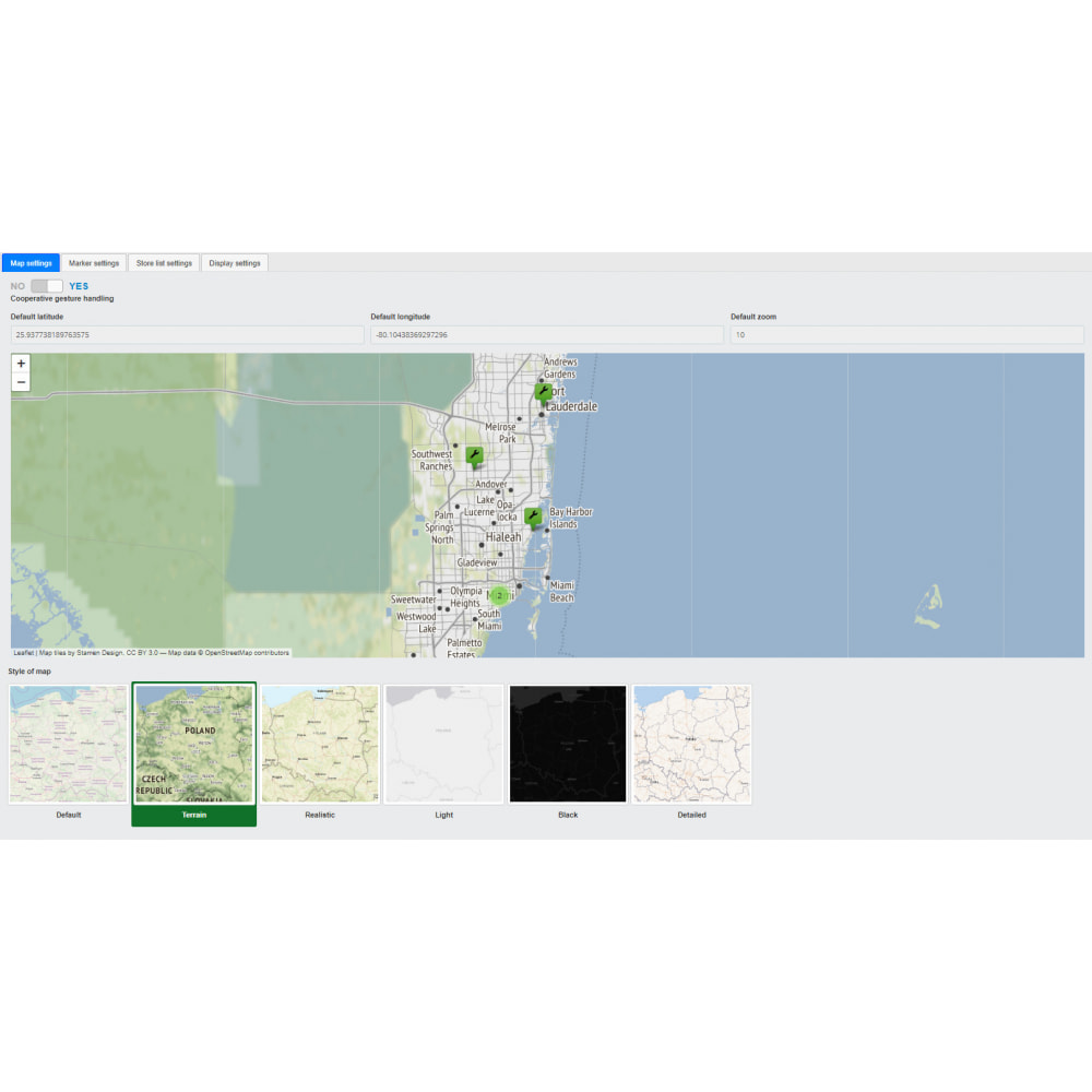 module - Internationaal & Lokalisatie - Store Locator (FREE - No Google Maps) - 10