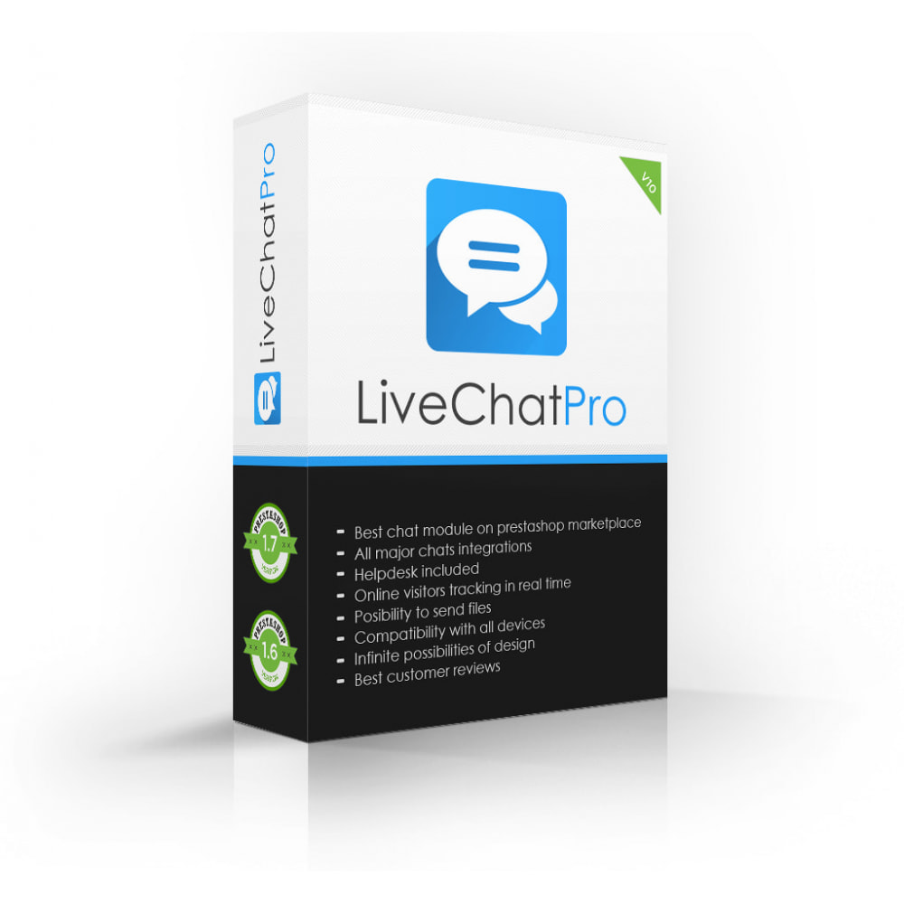 module - Ondersteuning & Online chat - Live Chat Pro (All in One) - 1