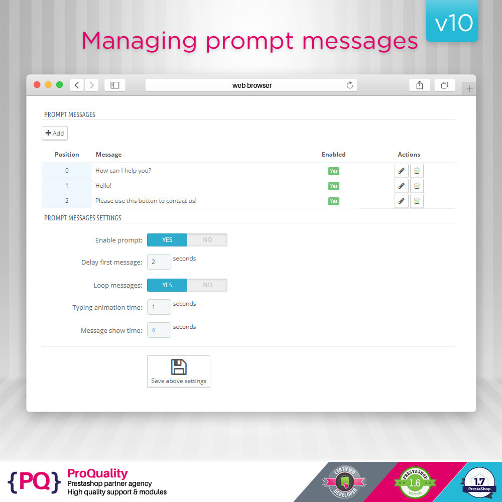 module - Support & Chat Online - Live Chat Pro (All in One) - 5