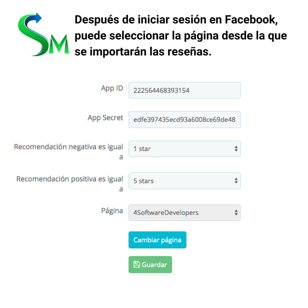module - Share Buttons & Comments - Social Reviews Importer - 1
