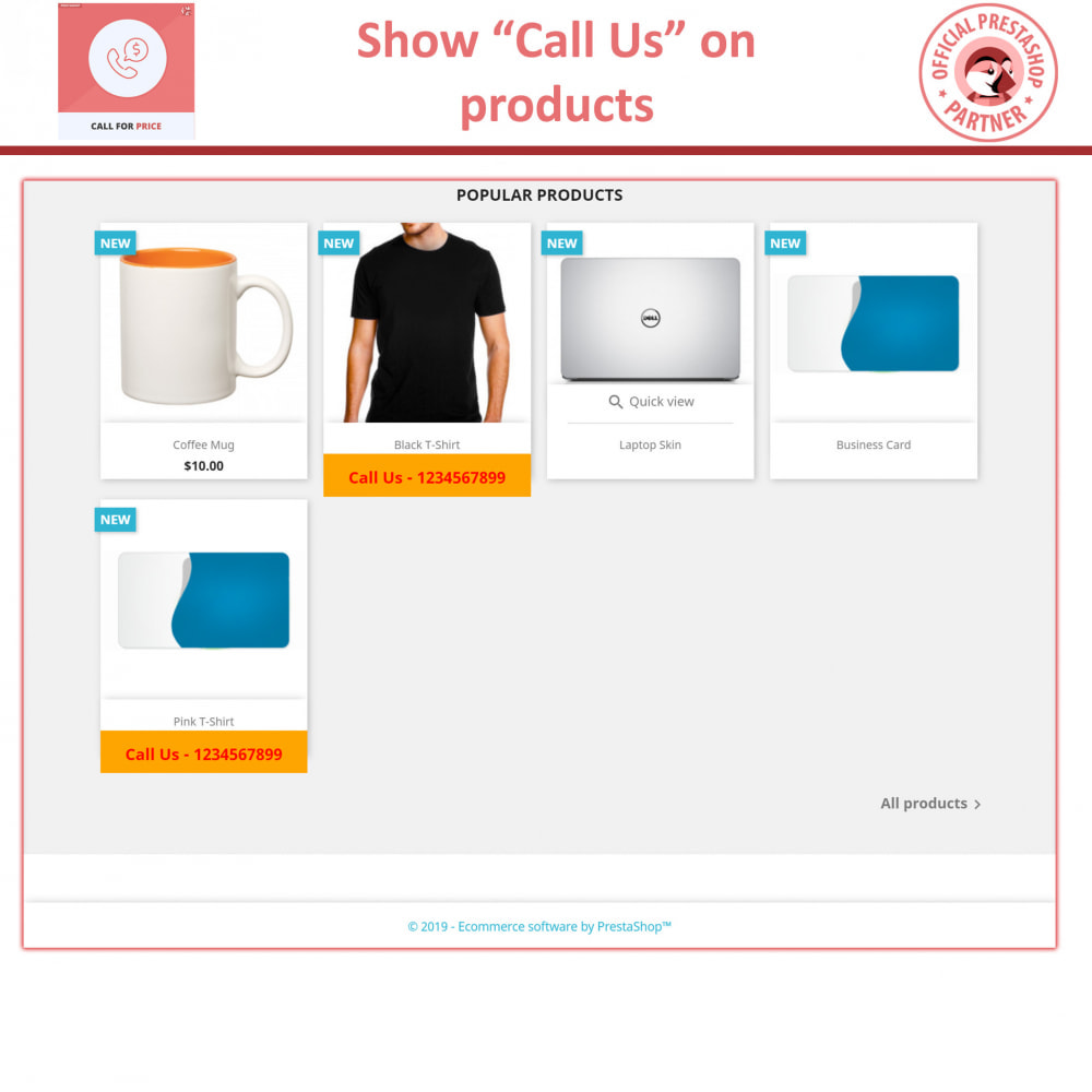 module - Preisverwaltung - Call For Price - Hide Price & Add To Cart - 2