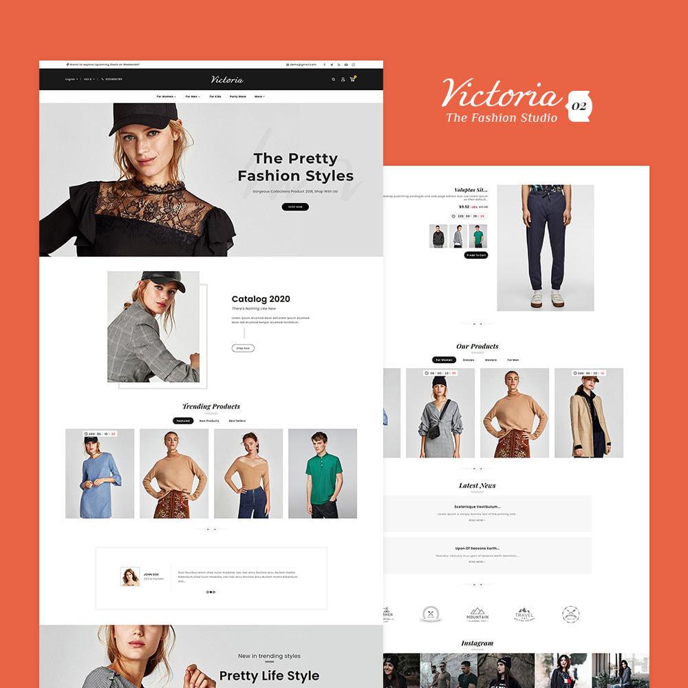 theme - Fashion & Shoes - Victoria Fashion Apparels - 3